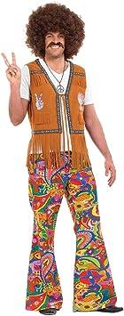 Fun Shack Verde Pantalones Acampanados Hippie Disfraz para ...