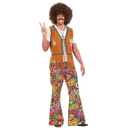 Pantalón psicodélico Hippie Hombre - XL