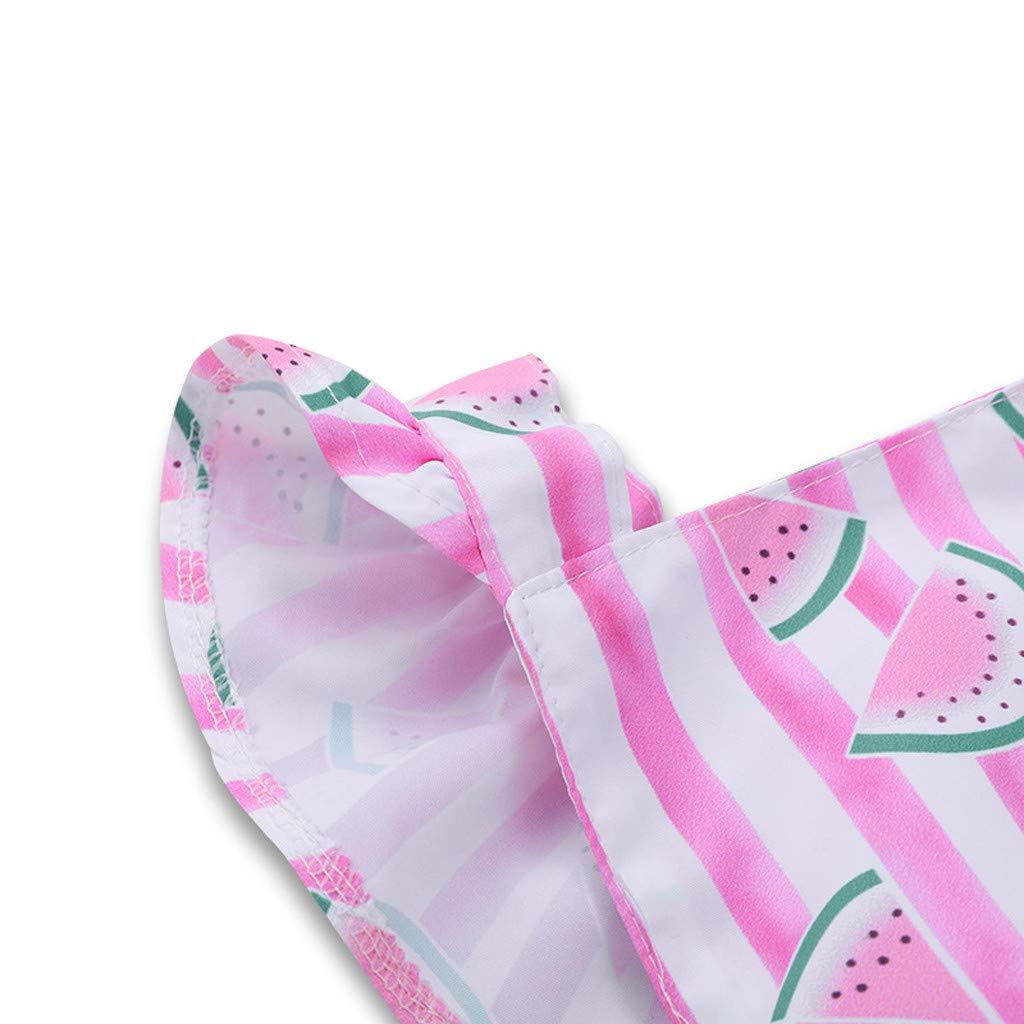 Tronet Baby onesie Toddler Newborn Infant Baby Girls Striped Print Romper Princess Bodysuit Clothes
