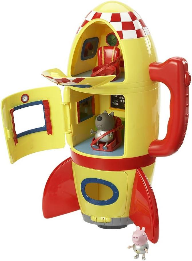Giochi Preziosi Peppa Pig Il Missile Spaziale con 2 Personaggi