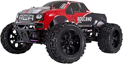 Redcat Racing Volcano Epx 4wd Monster Truck 1 10 Scale Rtr Red Toys Games