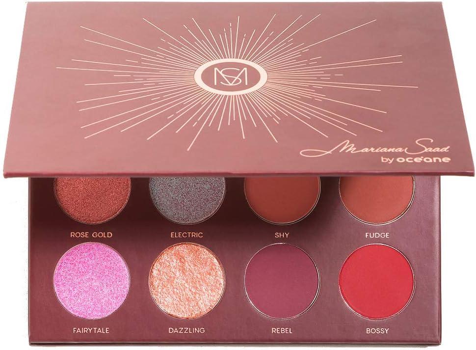 Banner Paleta de Sombras - 12 Shades, Océane (alta pigmentação e intensidade de cor permitindo durabilidade o dia todo)