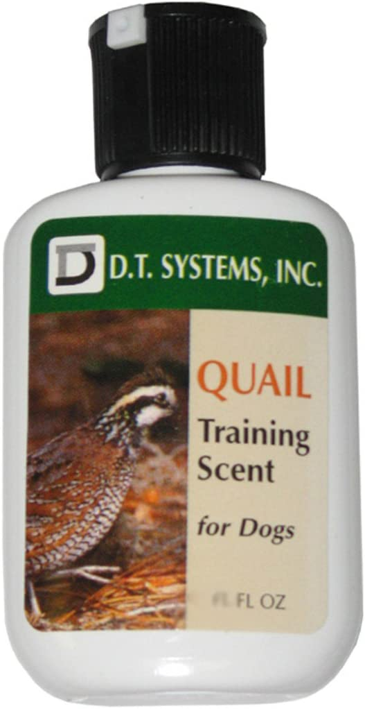 D.T. Systems Training Scent for Pets, 1-1/4-Ounce, Quail