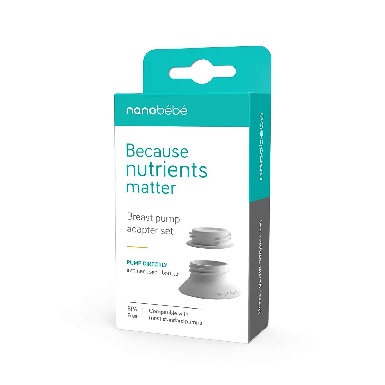 Amazon.com: Nanobebe - Adaptador de bomba de leche: Baby