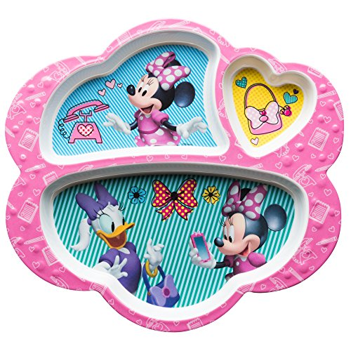 (Zak Minnie Mouse 3 Section Tray)
