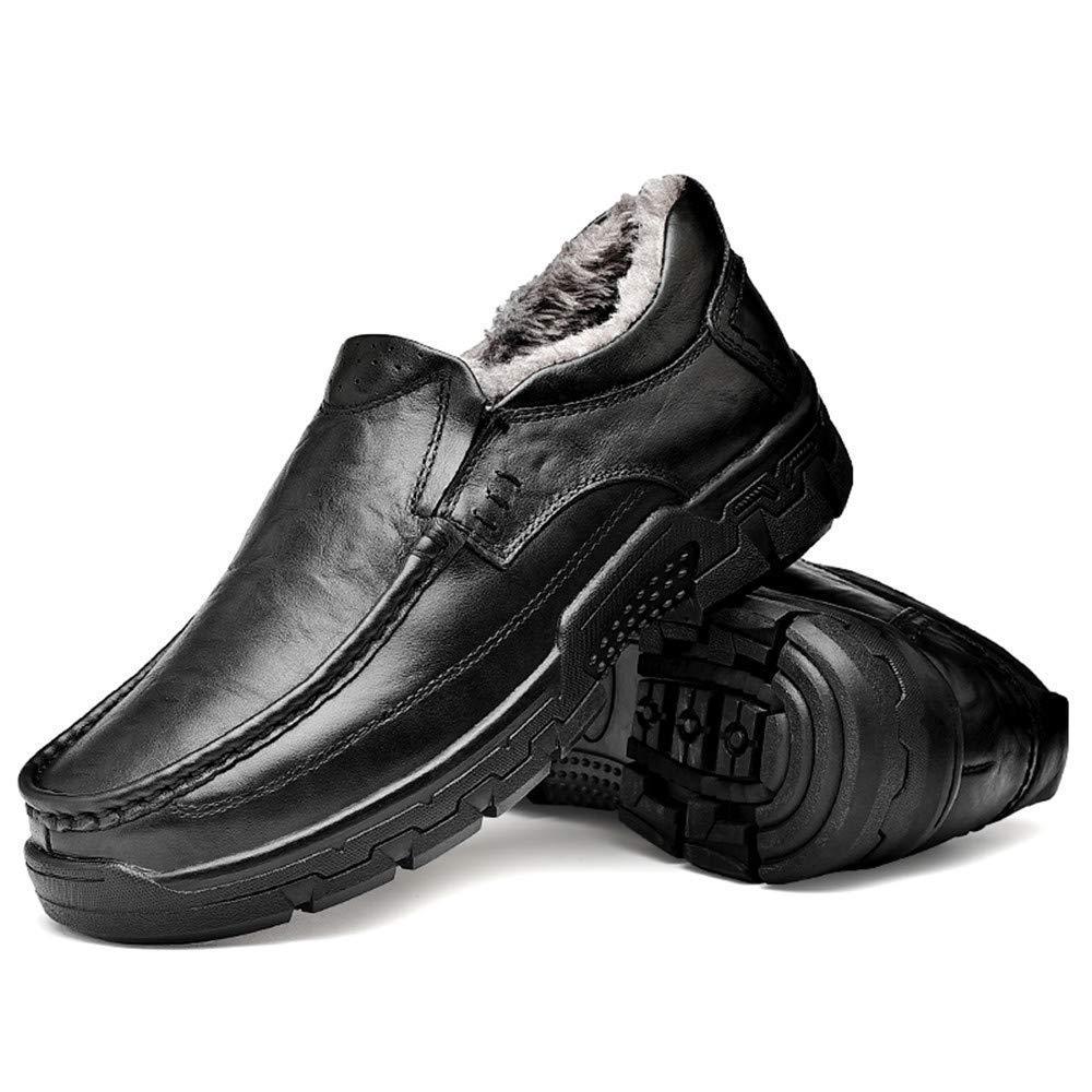 Oudan 2018 Oxfords-Schuhe der Männer im Freien, moderner Größe Entwurfs-Beleg auf Schuhen (Farbe   Warm schwarz, Größe moderner   44 EU) (Farbe   Wie Gezeigt, Größe   Einheitsgröße) 2046e5