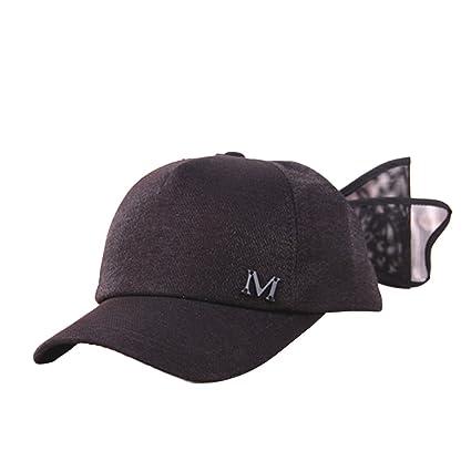 04384c1912a25 SEADEAR Lovely Bowknot Children s Baseball Cap Summer Baby Shade Cap Beach  Sun Visor Hat for Kids