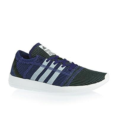 low priced 8cf25 56a8c adidas Element Refine Tricot Herren Sneaker Blau Amazon.de Schuhe   Handtaschen