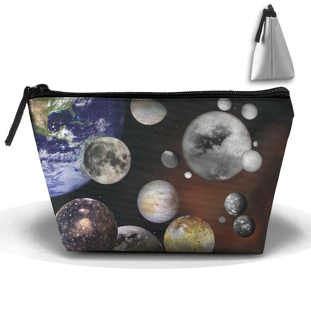 WQWSVX The Solar System Fashion Travel Bag Trapezoid