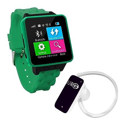 Amazon.com: Burg 16 Un teléfono SmartWatch con tarjeta SIM ...
