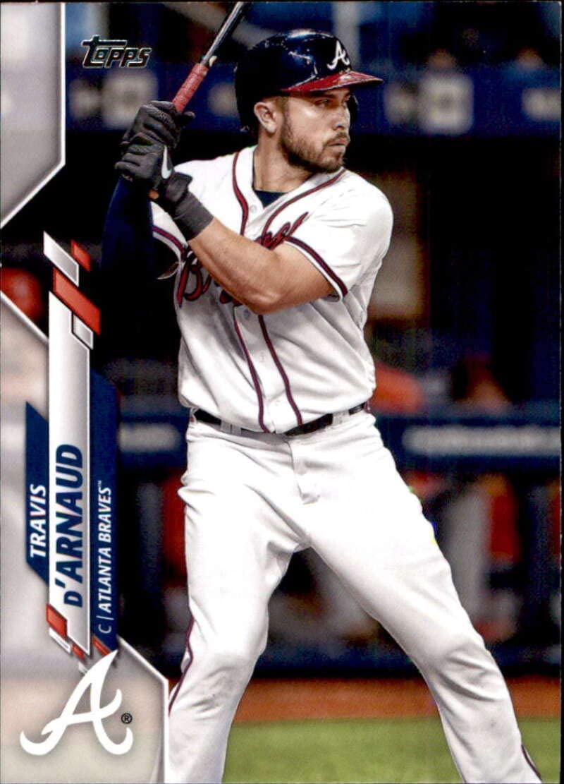 Amazon.com: 2020 Topps #436 Travis d'Arnaud Atlanta Braves MLB Baseball  Trading Card: Collectibles & Fine Art