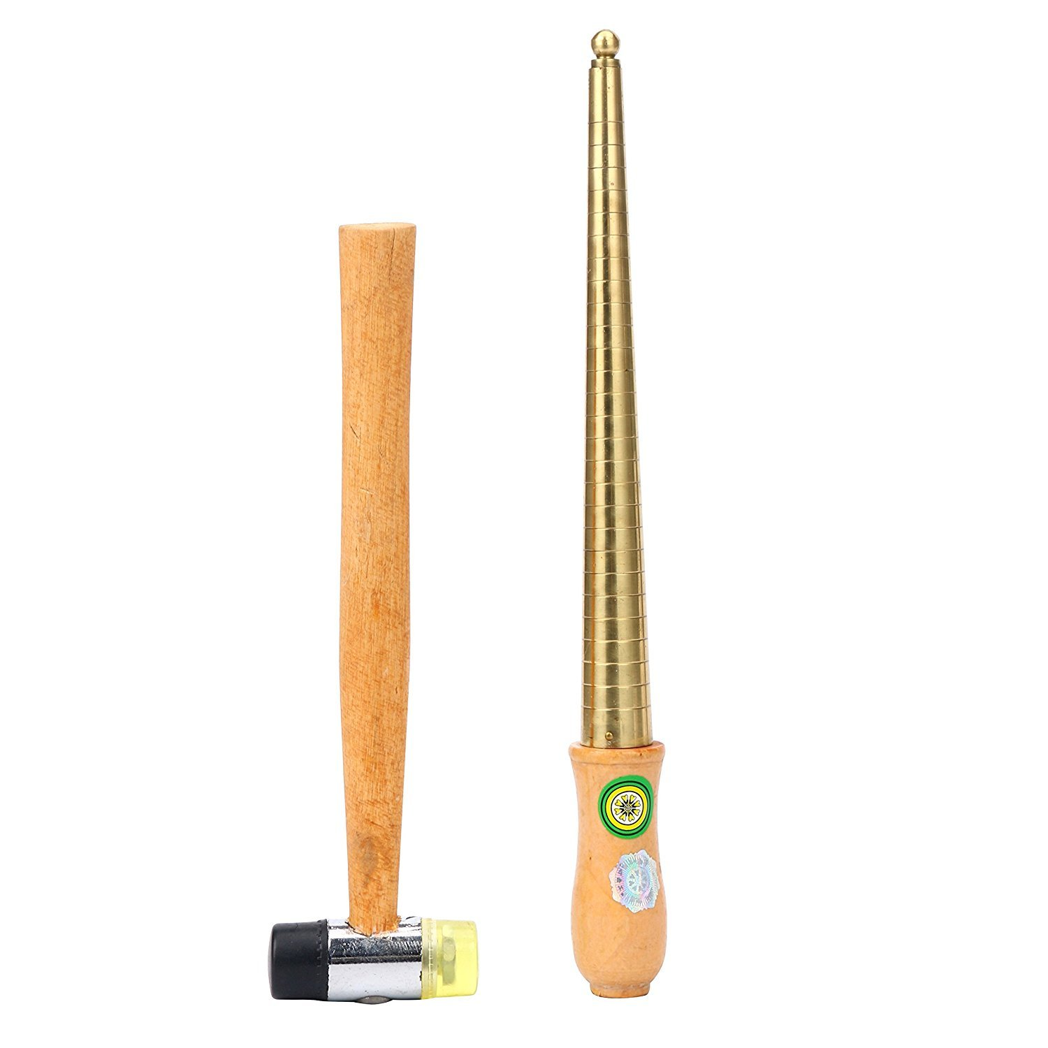 YaeTek STEEL RING MANDREL & NYLON FACE MALLET JEWELRY MAKING TOOL (1-13) Yaemart Corportation