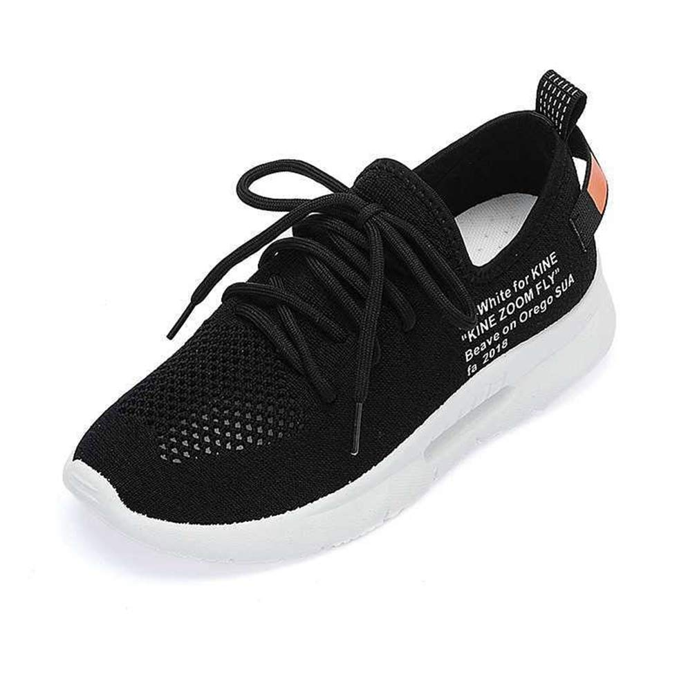 ed3e96febc6c72 Amazon.com | Hoxekle Air Mesh Breathable Shoes Lace-Up Shoes Woman Solid  Cotton Fabric Women Sneakers Sewing Wedges Shoes | Fashion Sneakers