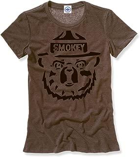 product image for Hank Player U.S.A. Smokey Bear Woodcut Women's T-Shirt