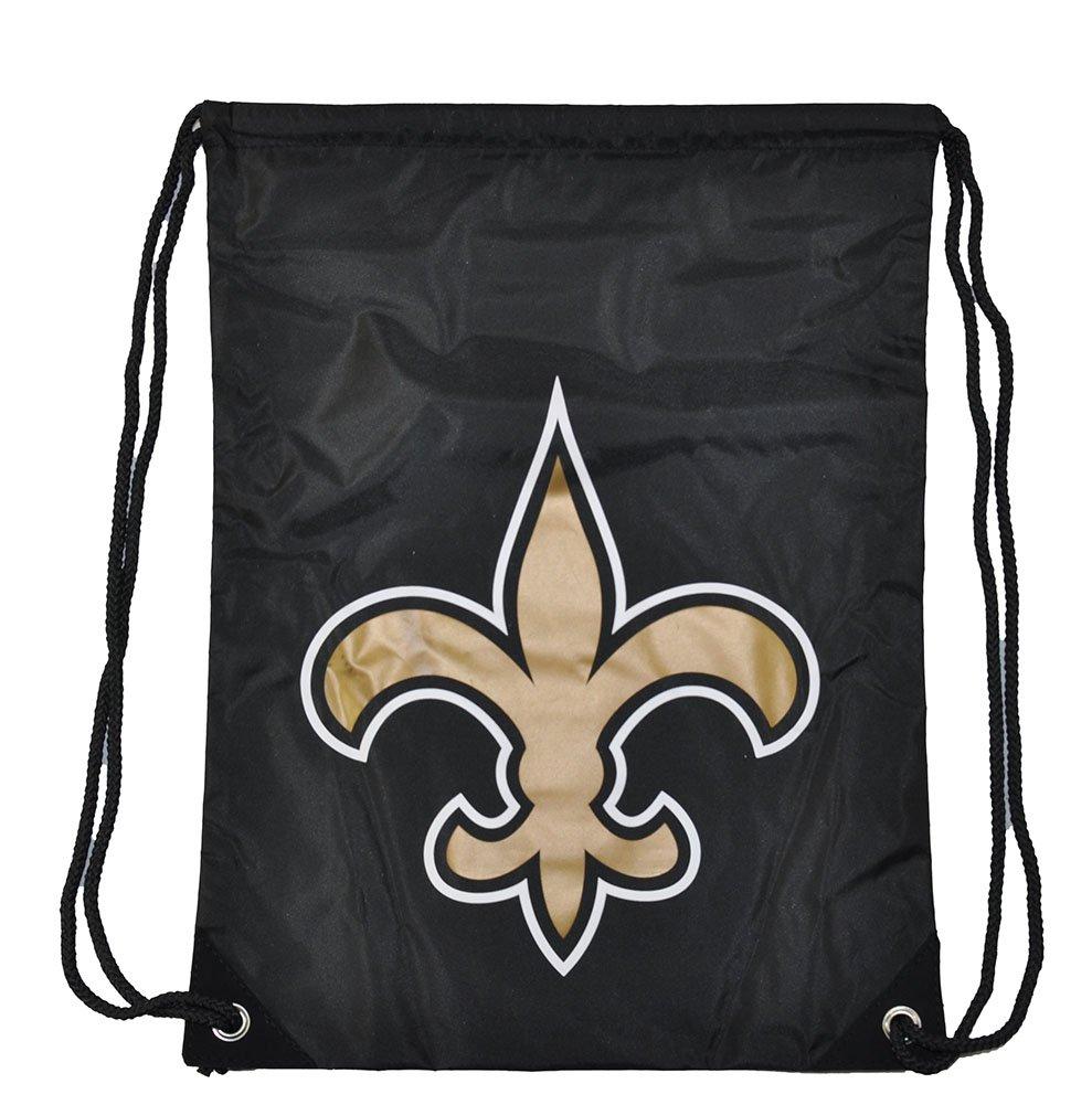 NFLフットボールチームロゴ巾着バックパックバッグ – Pickチーム B077V1GLQP ニューオリンズセイント ニューオリンズセイント