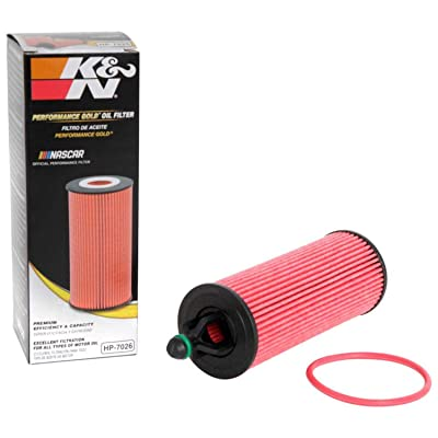K&N Premium Oil Filter: Designed to Protect your Engine: Fits Select CHRYSLER/DODGE/ JEEP/RAM Vehicle Models (See Product Description for Full List of Compatible Vehicles), HP-7026: Automotive