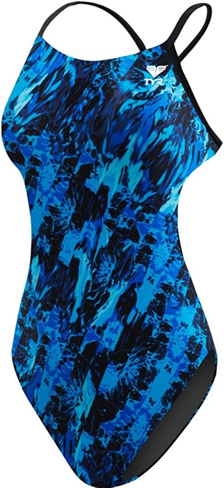 TYR Womens Glisade Cutoutfit Swimsuit
