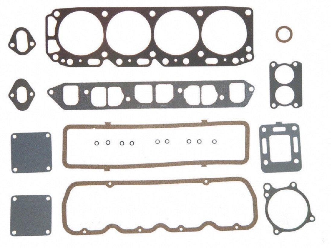 Mercruiser 140 LX Chevy MARINE 181 3.0 Full Gasket Set Head+Manifold+Oil Pan 2-PC (Before Serial #6229719)