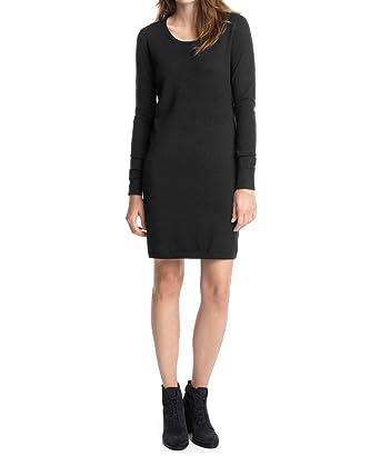 edc by Esprit Women s Sweaterdress Dress, Schwarz (Black 001), 8 ... d684bd29ac