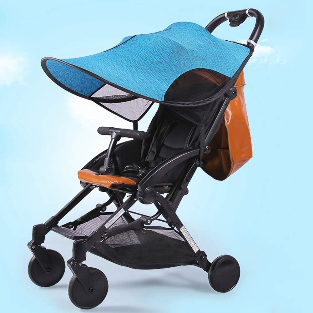 Widen Sun Shade Awning Windproof Anti-UV Umbrella Canopy Removable Stroller Shade Awning Haokaini Universal Baby Stroller Shade