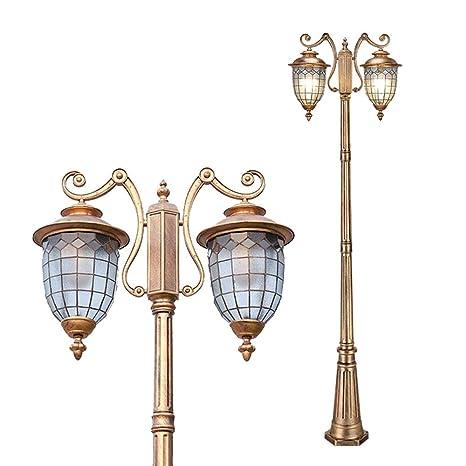 Outdoor Lámpara E27 Lámpara de mástil para exteriores 2 ...