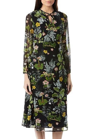669282231ae1 Sugarhill Boutique Women's Noor Midi Thistle Print Dress UK 8:  Amazon.co.uk: Clothing