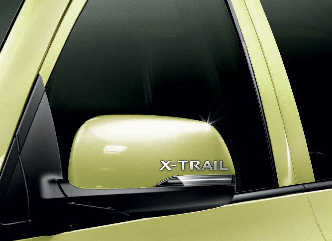 Nissan x trail car chrome vinyl wing mirror sticker decals car mod graphic x2 amazon co uk car motorbike