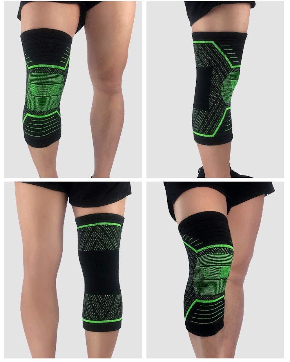 Amazon.com: LIA Knee Brace - 1 Piece Basketball Knee Pads ...