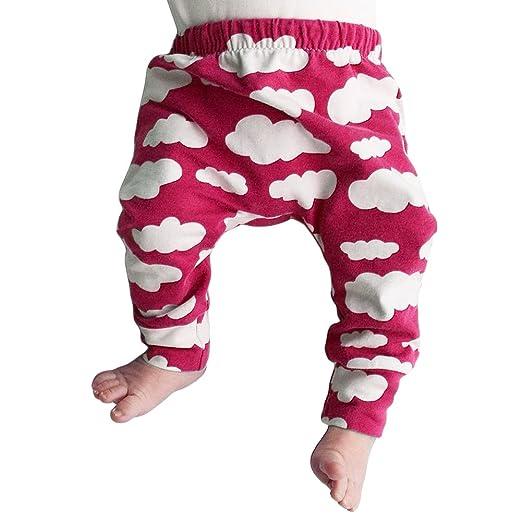 e950831c6307 Amazon.com  MIOIM Infant Baby Toddler Unisex Boys Girls Cloud Trousers  Leggings Pants Tights  Clothing