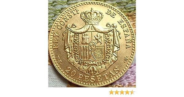 ARUNDEL SERVICES EU ESPAÑOL 20 Pesetas MONDEDA 1889 ESPAÑOL ...