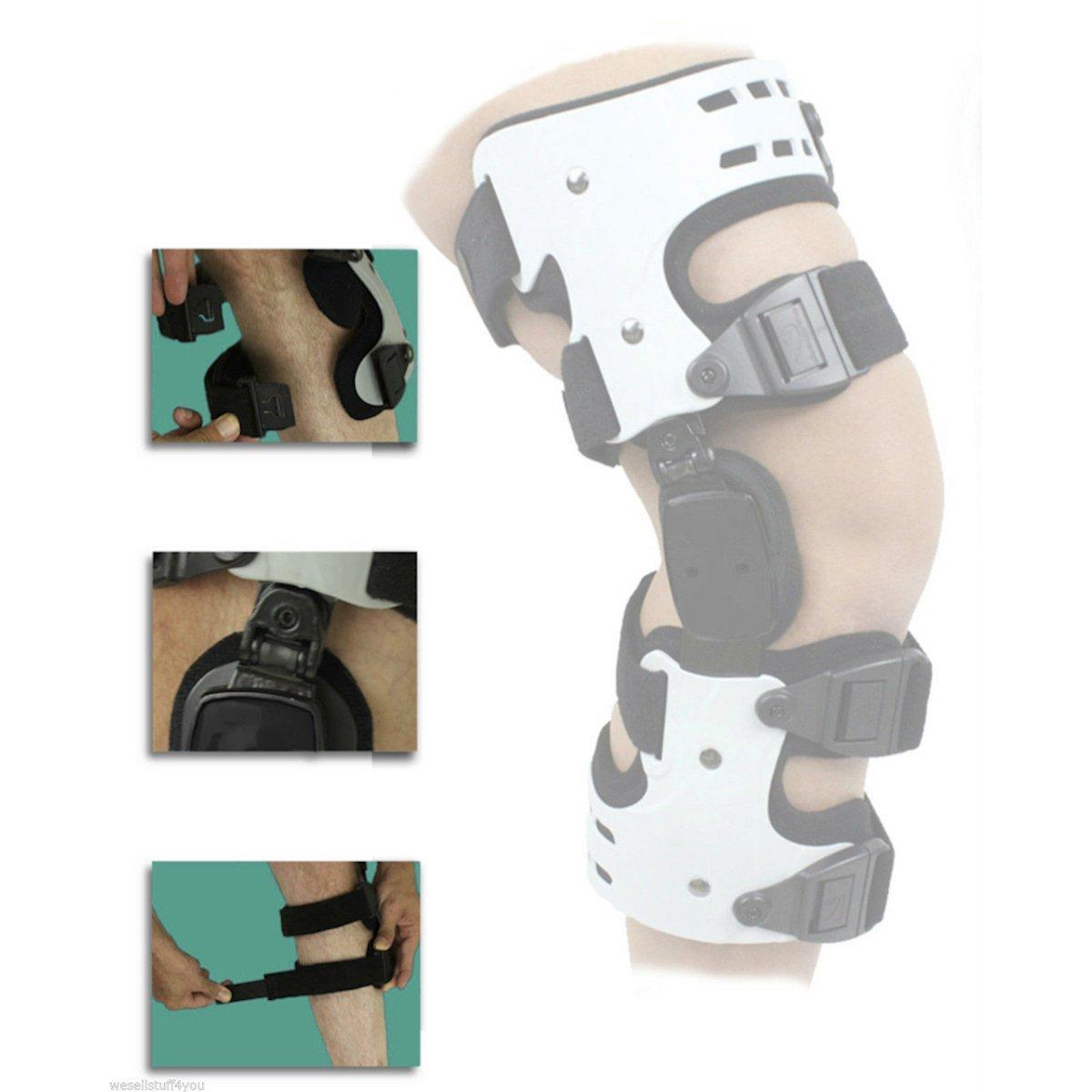 Orthomen OA Unloading Knee Brace for Osteoarthritis – Bone on Bone - Lateral Support - Size: Universal/Left by Orthomen (Image #5)