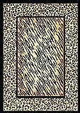 5 X 8 Leopard Tiger Skin Mix African Wildlife Africa Safari Area Rug