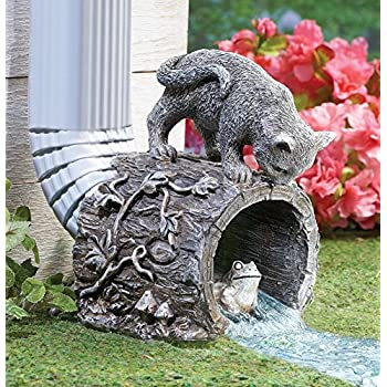 Amazon com: Palos Designs Decorative Downspout Splash Block