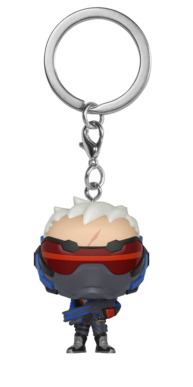 Funko Pop Keychain: Overwatch - Soldier 76 Collectible Figure, Multicolor 32774