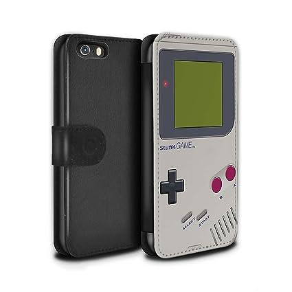 STUFF4 PU Funda de piel/cubierta/cartera para Apple Iphone se ...