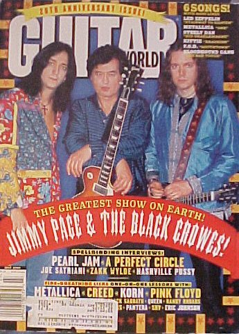 Download Guitar World Magazine (20th Anniversary Issue, Jimmy Page & The Black Crowes)[July 2000 - Vol. 20 / No. 7] ebook