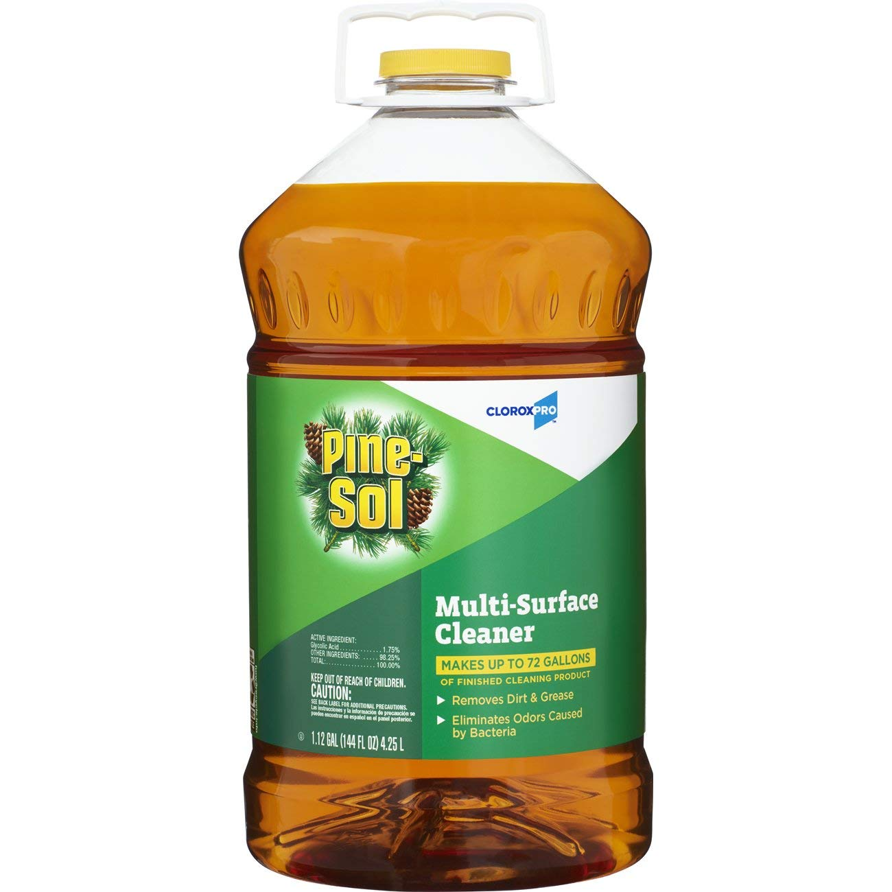 Pine-Sol Multi-Surface CloroxPro Cleaner, Original Pine, 144 Ounce Bottle (35418) (Packaging May Vary) by Clorox