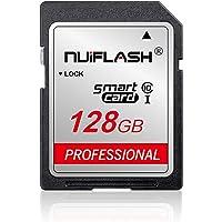128 جيجا بايت بطاقة ذاكرة من الفئة 10 عالية السرعة متوافقة مع الكاميرات وكاميرات الفيديو، بطاقة ذاكرة للكاميرا، تعمل مع…