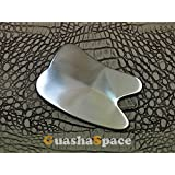 Top Quality Scraping Gua Sha Guasha Pure Titanium Material Chiropractic Holistic Soft Tissue Sports Therapy Physical Therapy Natural Therapy Tool Scraping Tool (TT007 Type)