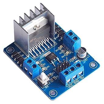L298 N módulo controlador de motor paso a paso: Amazon.es ...