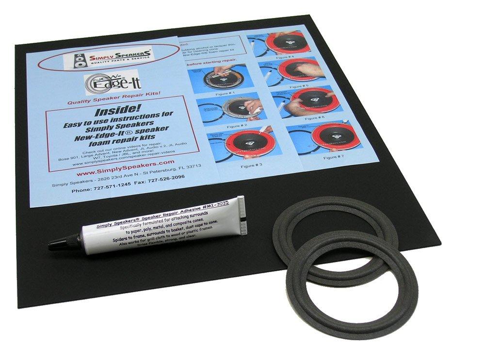 Bang & Olufsen Speaker Foam Edge Repair Replacement Kit, 3-1/2'', FSK-3