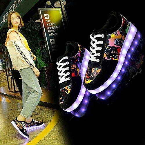 De NGRDX Zapatos Mujeres Mujer amp;G Más Vulcanizar Transpirable De Cómodos Malla BLACK Mujeres De Casuales Tamaño Deporte Zapatillas Zapatos SwXqSr