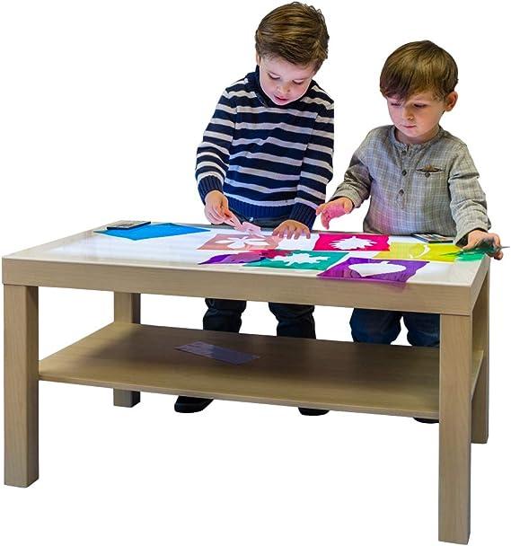 HenBea - Juguete educativo Mi mesa de luz, color beige (1000 ...