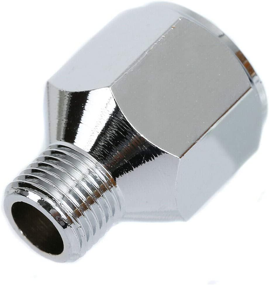 Airbrush Hose Adaptor Connector Fitting 1//4/'/' BSP Female To 1//8/'/' BSP Male El