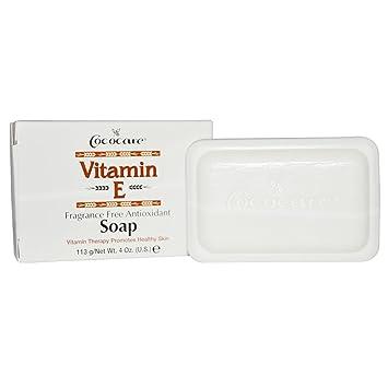 Image result for Cococare, Vitamin E Soap, Fragrance Free Antioxidant