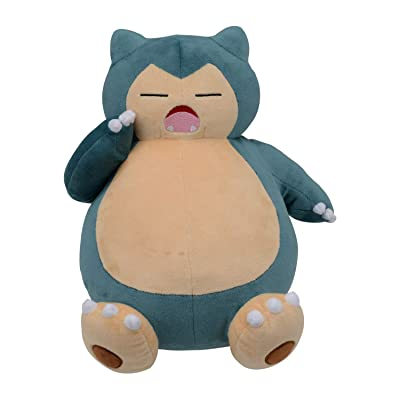 Pokemon Center Plush Snorlax Yawning: Toys & Games
