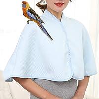 Parrot Anti-scratch Shoulder Protector Cape Prop Cover for Small Medium Large Birds Pet Arm Poop Shawl Guard Diasper Pad…