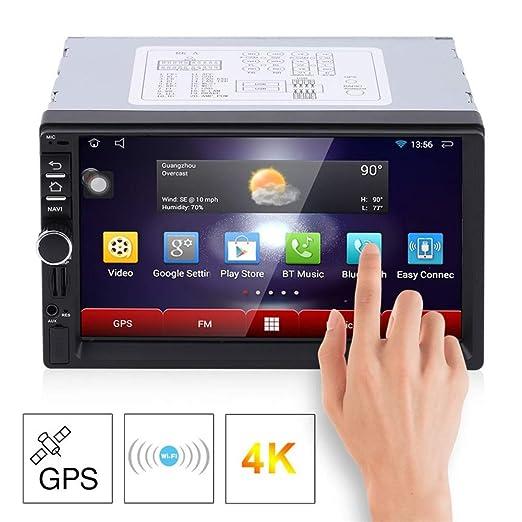 QinLL Car Stereo Android 4.4 Radio de Coche 7 Pulgadas Pantalla ...