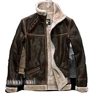 RESIDENT EVIL 4 LEON KENNEDY S PU leather Faux fur Jackets Costume Cosplay 74eca4f5e7f4