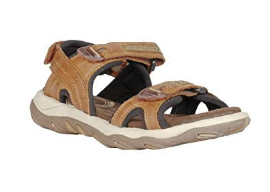 Men's Sandals gd Woodland 11 Camel And 1035111w13 Floaters Leather bmvIYfg67y